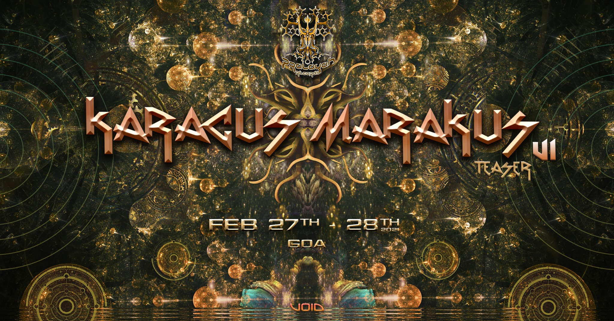Karacus Marakus Festival (VI) Teaser 27th Feb, Goa
